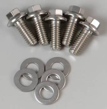 ARP - ARP Stainless Steel Bolt Kit - 6 Point (5) 5/16-18 x .750