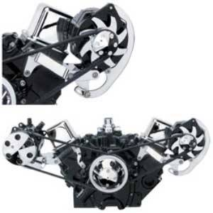 Billet Specialties - Billet Specialties Independent Side Mount Alternator Bracket