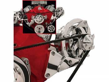 Billet Specialties - Billet Specialties Independent Side Mount Alternator Bracket
