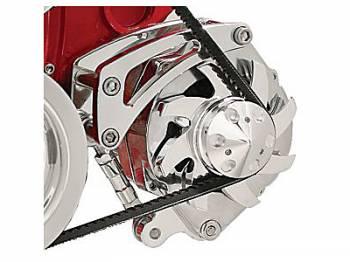 Billet Specialties - Billet Specialties SB Chevy Low Mount Alternator Bracket