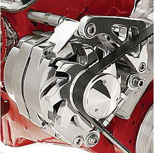 Billet Specialties - Billet Specialties SB Chevy Mid Mount Alternator Bracket