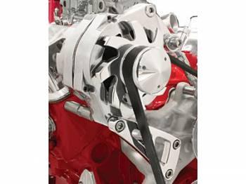 Billet Specialties - Billet Specialties SB Chevy Top Mount Alternator Bracket