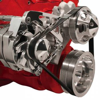 Billet Specialties - Billet Specialties BB Chevy Mid Mount Alternator Kit