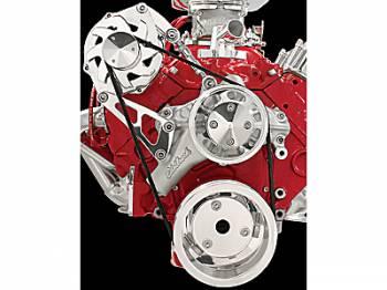 Billet Specialties - Billet Specialties SB Chevy Serpentine Conversion Kit