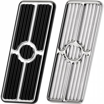 Billet Specialties - Billet Specialties 67-69 Camaro Gas Pedal Pad - Black - Chevy Camaro / Pontiac Firebird