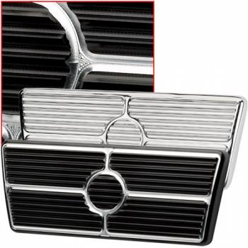 Billet Specialties - Billet Specialties 58-64 Impala/63-67 Nova Brake Pedal Pad - Black Anodized - Automatic