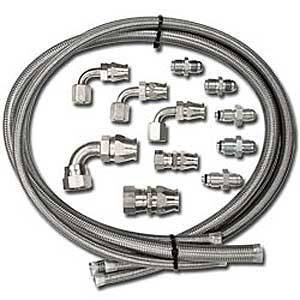 Billet Specialties - Billet Specialties Power Steering Hose Kit