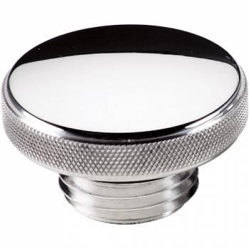 Billet Specialties - Billet Specialties Screw-On Oil Fill Cap - Round - Polished - Universal
