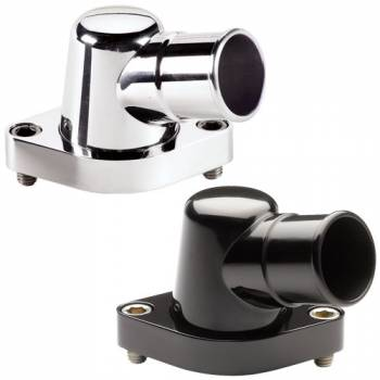 Billet Specialties - Billet Specialties Polished Thermostat Housing - 15 Degree - BB Chevy/SB Chevy