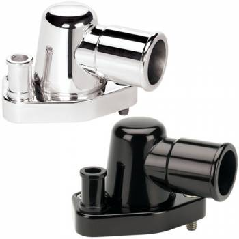 Billet Specialties - Billet Specialties SB Ford Thermostat Housing - Polished - 90 Degree - Ford 260-302/351W