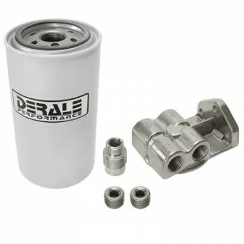 Derale Performance - Derale Water/Fuel Separator Kit Side Ports