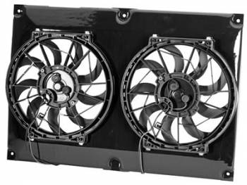 "Derale Performance - Derale 10"" Dual High Output RAD Fans Puller"