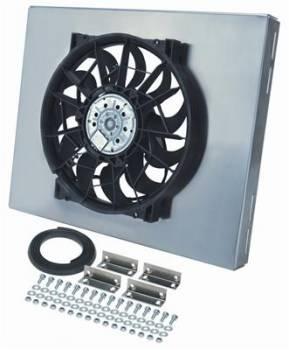 Derale Performance - Derale Radiator Fan w/ Aluminum Shroud Assembly