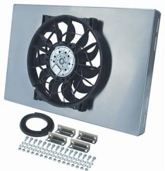Derale Performance - Derale Radiator Fan w/ Aluminum Shroud Assembly