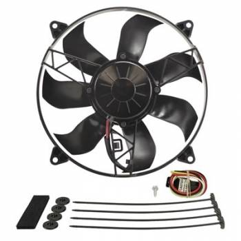 "Derale Performance - Derale 12"" High Output RAD Fan Single Puller"