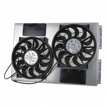 "Derale Performance - Derale 13"" Dual High Output RAD Fans Puller"