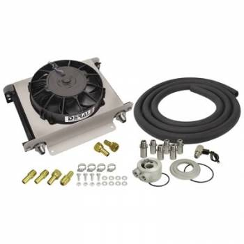 Derale Performance - Derale Hyper-Cool Engine Oil Cooler Kit (-8 AN)