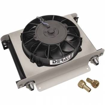 Derale Performance - Derale Hyper Cool Cooler w/ -8 AN Inlets