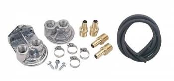 Derale Performance - Derale Oil Filter Relocation Kit 3/4 - 16