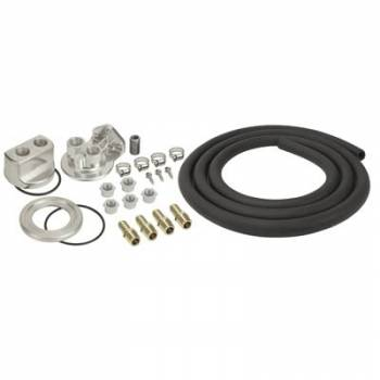 Derale Performance - Derale Single Mount Oil Filter Relocation Kit