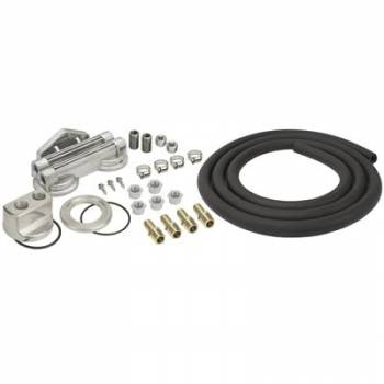 Derale Performance - Derale Dual Mount Oil Filter Relocation Kit
