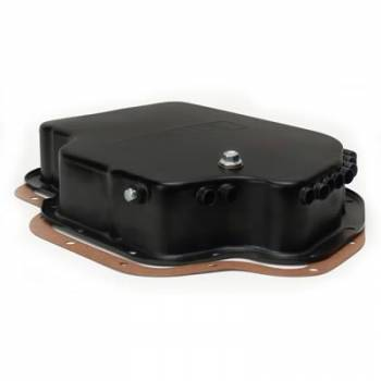 Derale Performance - Derale Black Transmission Pan GM TH400 Standard Pan