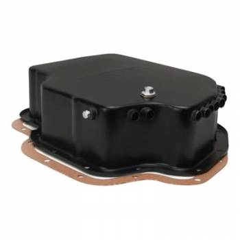Derale Performance - Derale Black Transmission Pan GM TH400 Deep Pan