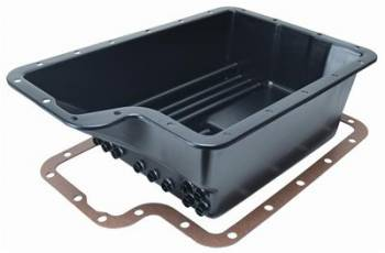 Derale Performance - Derale Black Transmission Pan Ford 4R100/E4OD/5R110/5R110W