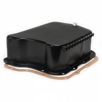 Derale Performance - Derale Black Transmission Pan Dodge A518/618/727