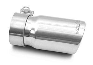 "DynoMax Performance Exhaust - Dynomax 3"" Slant Exhaust Tip Stainless Steel"