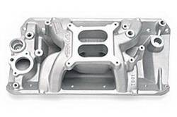 Edelbrock - Edelbrock RPM Air Gap AMC Intake Manifold - Cast