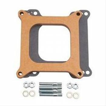 Edelbrock - Edelbrock Carburetor Spacer - 1/2 Thick - Wood