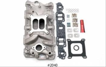 Edelbrock - Edelbrock SB Chevy 2701 Intake Manifold & Installation Kit