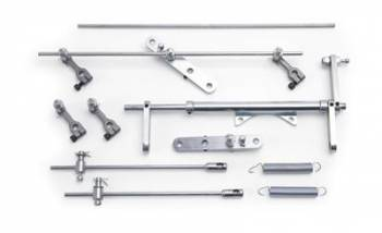 Edelbrock - Edelbrock Throttle Linkage Kit - Dual Carb 6x2x1