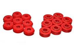 Energy Suspension - Energy Suspension Body Cab Mount Set - Red