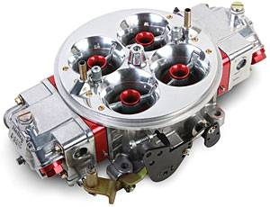 Holley Performance Products - Holley Ultra Dominator Carburetor - 1150 CFM 4500 Series - Red Metering Blocks & Base Plate