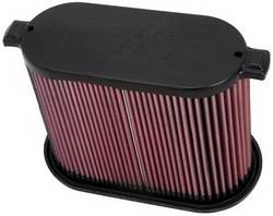 "K&N Filters - K&N Performance Air Filter - Oval - 11-3/4 x 5-7/8"" x 9"" - Ford Fullsize Truck 2008-10"