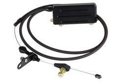 Lokar - Lokar Midnight Series Stainless Steel Hi-Tech Kickdown Kit - GM TH-400