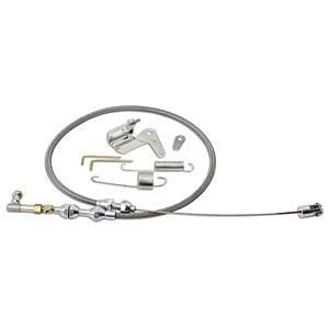Lokar - Lokar Duo-Pak Kit - Includes Stainless Steel Throttle Cable / Carburetor Bracket / Return Spring