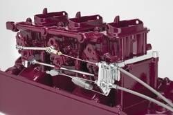 Lokar - Lokar Billet Aluminum Throttle Cable Mounting Bracket and Springs - Includes Progressive Linkage Rod