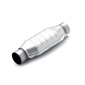 Magnaflow Performance Exhaust - MagnaFlow Stainless Steel Catalytic Converter Oval Universal 3.00 In/Out