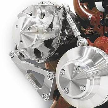 March Performance - March Performance LWP Deluxe Alternator Bracket