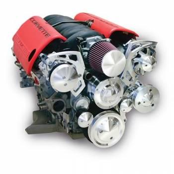 March Performance - March Performance Serpentine Kit LS2 & LS7 LS1 Corvette