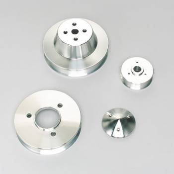 March Performance - March Performance BB Chevy Serpentine Pulley Set 3 Piece