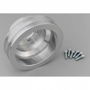 March Performance - March Performance 2 Groove Crank Pulley 6-1/2""