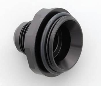 Meziere Enterprises - Meziere #12 AN Water Neck Fitting - Black