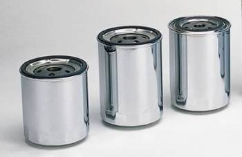 Moroso Performance Products - Moroso Chrome Chevy Oil Filter