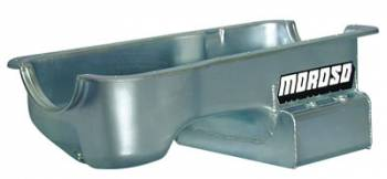 Moroso Performance Products - Moroso SB Ford 5.0L Oil Pan w/ Kick- Out Sump- 7 Qt.