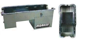 Moroso Performance Products - Moroso 5.0L Ford Stainless Steel Oil Pan