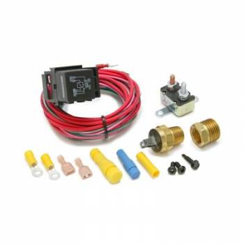 Painless Performance Products - Painless Performance Air Conditioner Activated Cooling Fan Relay On 200/Off 180